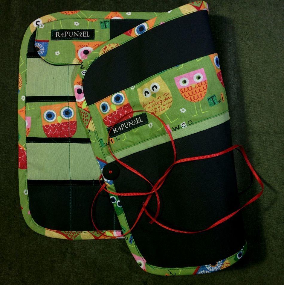 Überraschung ;) DIY Knitting KnitPro Stricken Strick-Guerilla Needlecase Nadelrolle R4PUN2EL Nadeltasche Dawanda