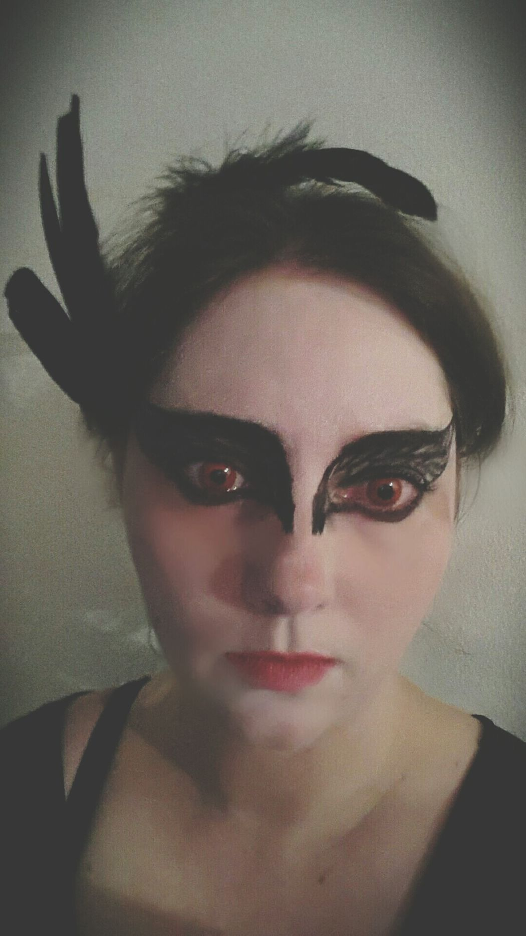 Looking At Camera Portrait Spooky Evil One Person Halloween Adults Only Bizarre People Adult One Woman Only Only Women Indoors  Close-up Human Body Part