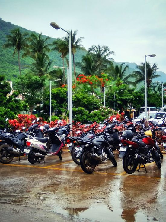 Rain has gone away! Motorcycle Transportation EyeEmNewHere Beauty In Nature Mix Yourself A Good Time Your Ticket To Europe The Week On EyeEm