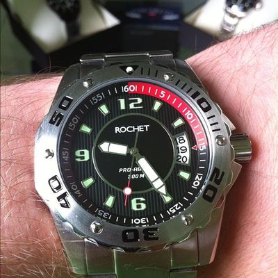 Rochet Pro Abyss Divers Limited Edition | sportswatch.me | #womw Womw