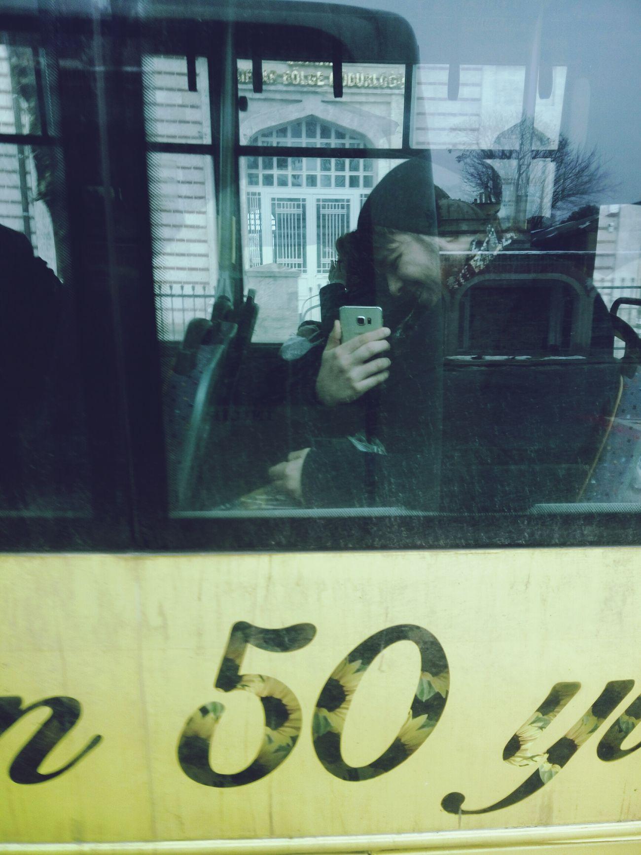 15.01.2017 HIsunshine Icaughtyou Inthebus Boyfriend❤ Yanyana Otobuste Yakaladım Kirli Sarı Yellow MyBoyFriend Sevgilim Edirne Dirty Window Goodtime