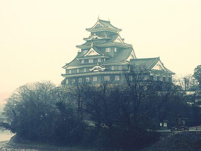 okayama castle Castle Japanese Castle