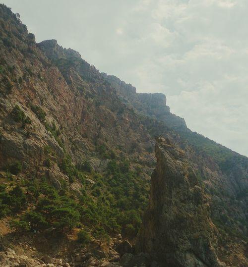 Балаклавские берега. пейзаж горы Природа Nature Landscape Mountains Rocky Cliff Majestic Geology геология