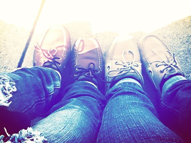 Me and my best friends shoes