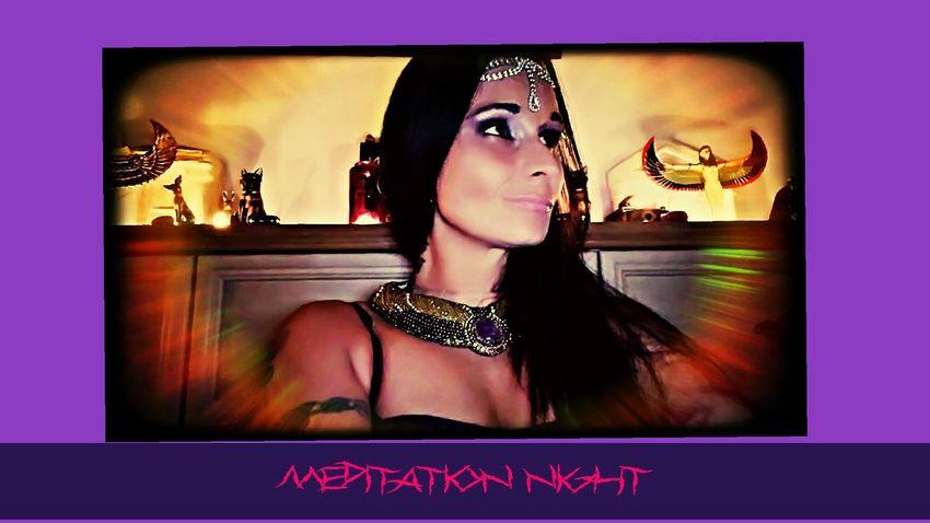 Meditation Night Lady Liberty Starseed Isis <3 Hathor Sacredheart Goddess Beautiful Woman
