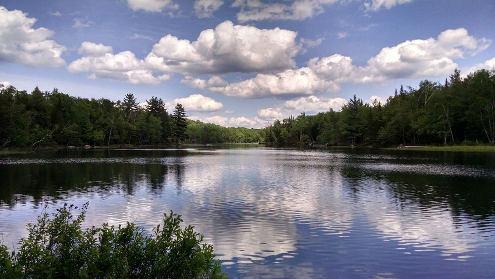 Showcase July Relaxing New York Enjoying Life Water Reflections Nature Photography Nature_collection Serenity Nature_collection Beautiful Beauty In Nature Adirondack , New York, USA Adirondack Mountains Mountains Lake View Lake Sky And Clouds