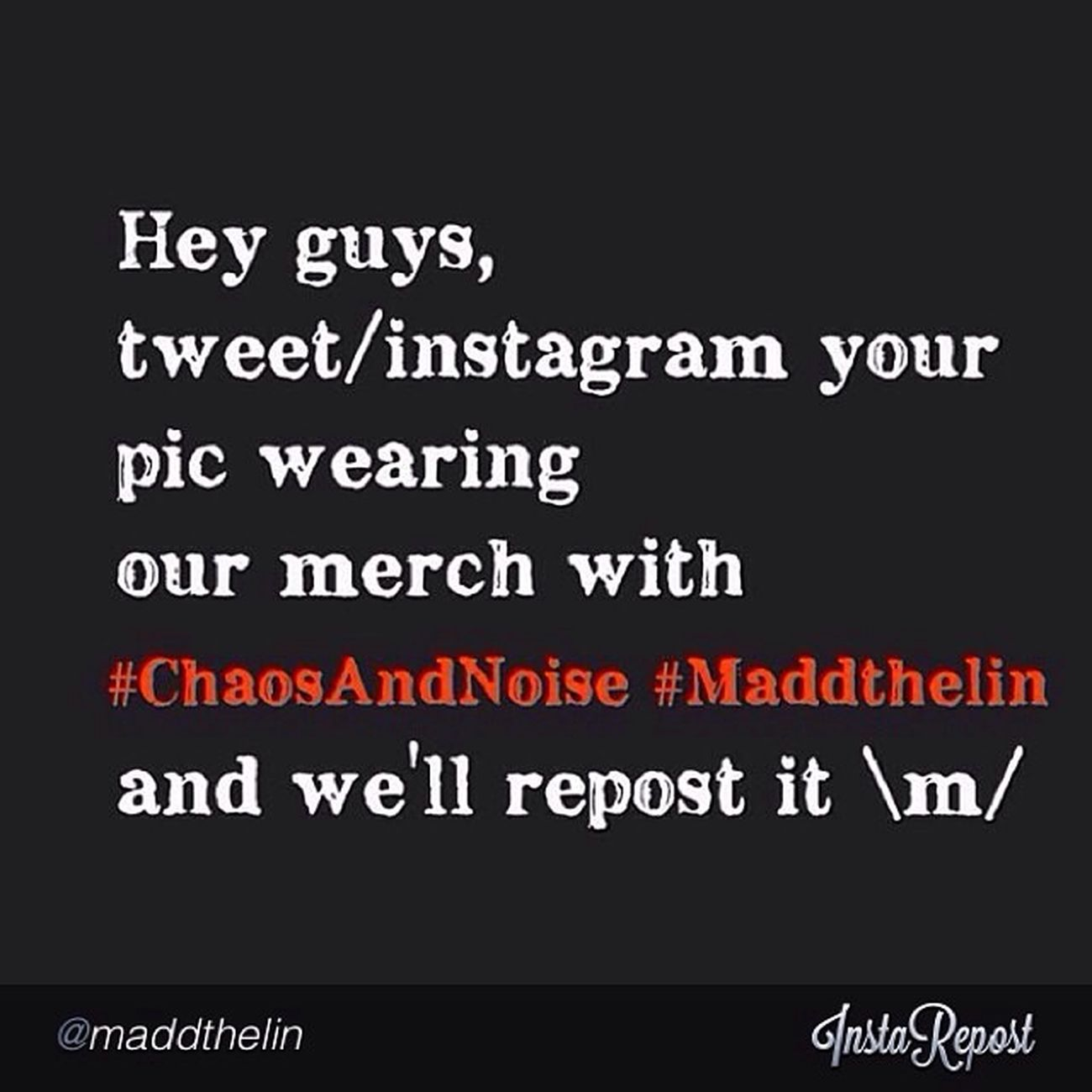 DO IT Maddthelin ChaosAndNoise