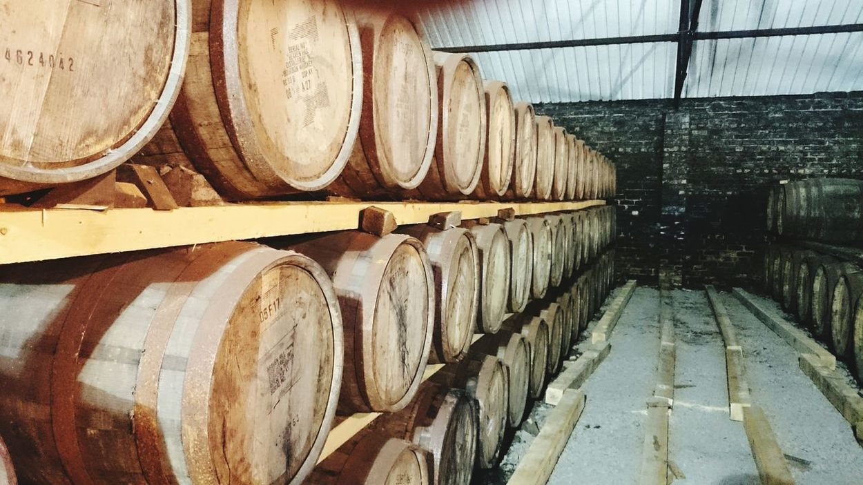 Hanging Out Taking Photos Check This Out Scotland Whiskey Whisky Distillery WaterOfLife Uisgebeatha Casks Whiskey Cask Whisky Barrels Resting Angels Share Worth Waiting For