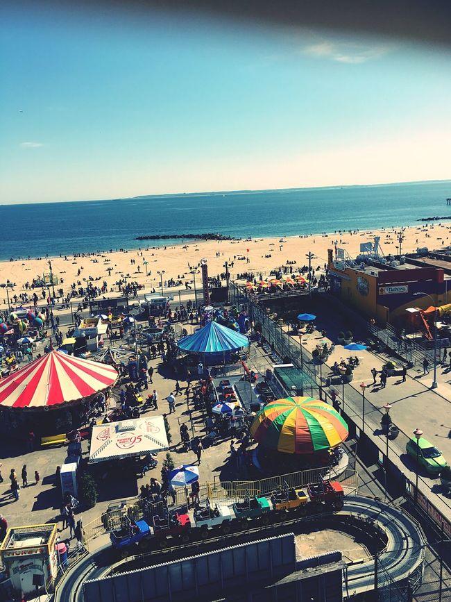 Wonderwheel Coney Island Coney Island / Brooklyn NY Adventure Park OverviewPoint Atlantic Ocean