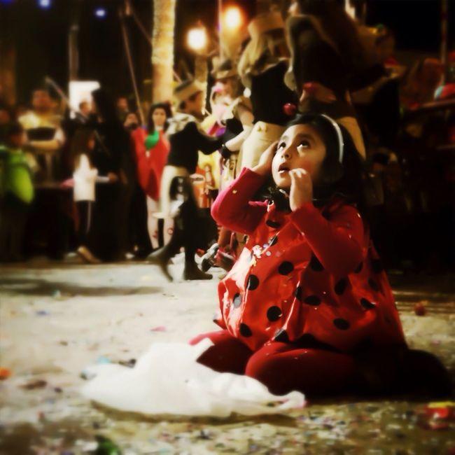 Fotografía realizada durante el Carnaval de Águilas (Murcia) 8-10 de febrero 2013