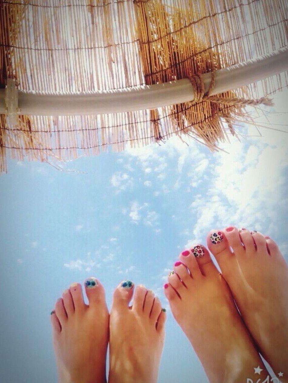 휴양지같은 군산선유도. Beach Sommer Sky Pedicure Friends ❤ Korea Trip