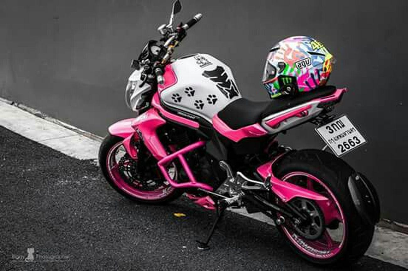 Motorbike Pinkmaschine Pink I Love My Motorbike❤ Kawasaki
