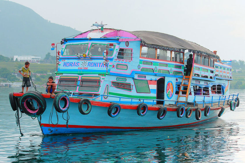 The Week On EyeEm tourism boat on Toba Lake, Sumatra-Indonesia Boat Water Outdoors Ship Tourism Toba Toba Lake Sumatra  INDONESIA Transportation Pier Wharf Mix Yourself A Good Time