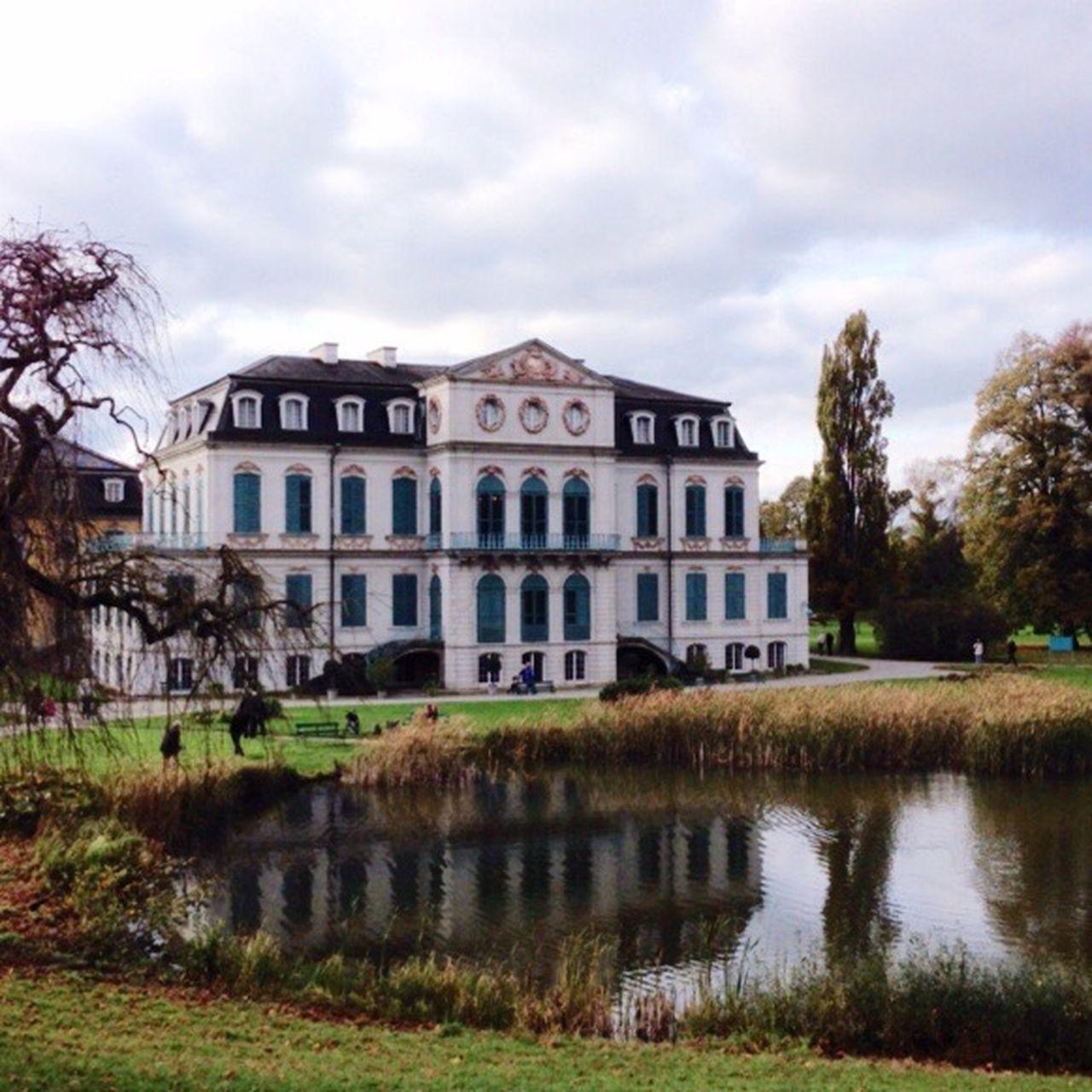 Castle Schloss in Hessen Deutschland Water Reflections