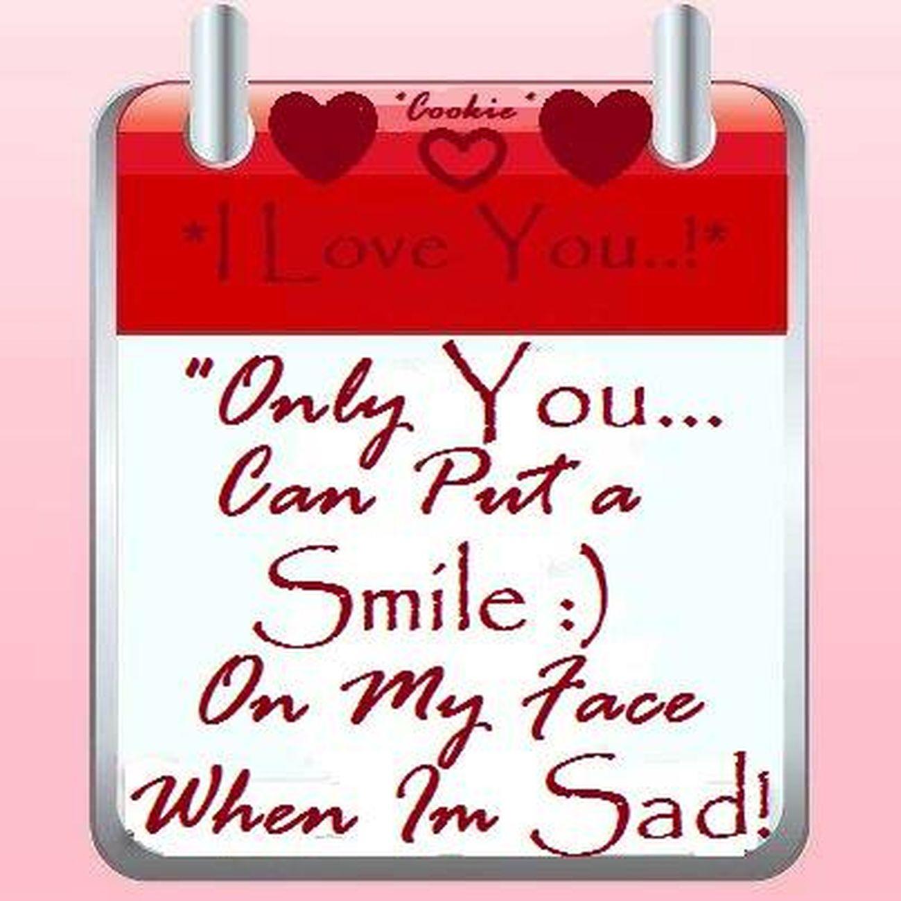 Feeling Sad But Smiling