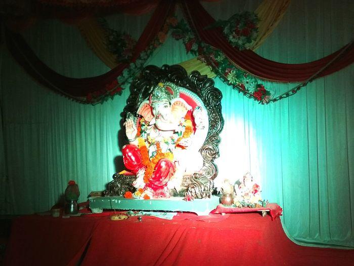 Ganpati Bappa Morya..☺ First Eyeem Photo