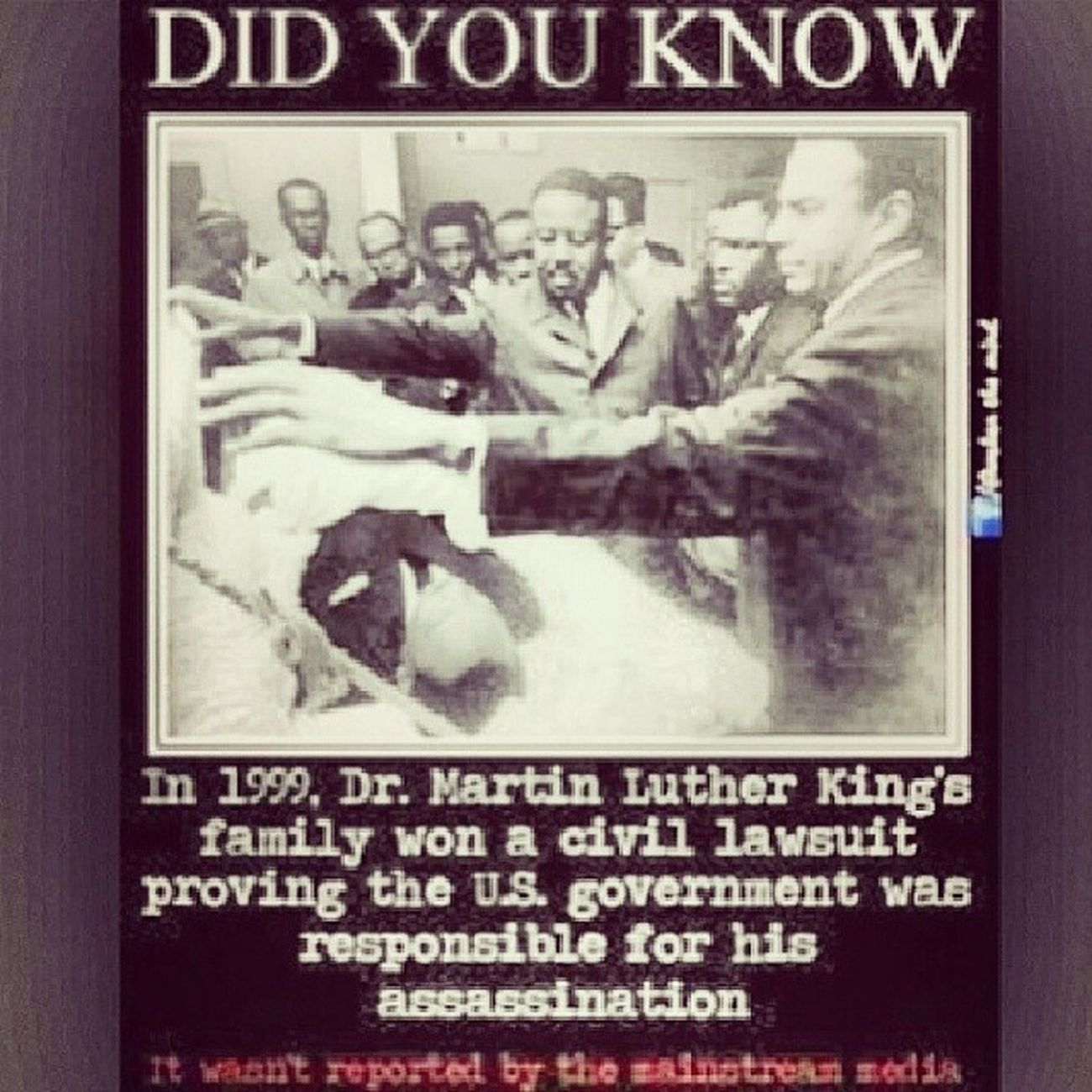 Fuck the government. MLK Rip Blackhistory