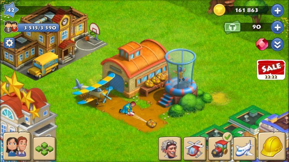 Township MobileGame 요즘 빠져 있는 게임 내 농장과 공장들ㅎㅎ