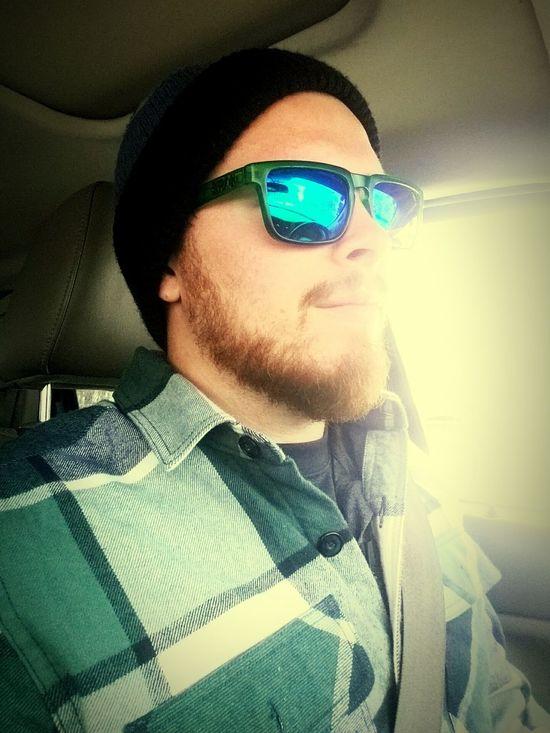 Selfie ✌ Dangerous Driving Beanieswag Manbeard