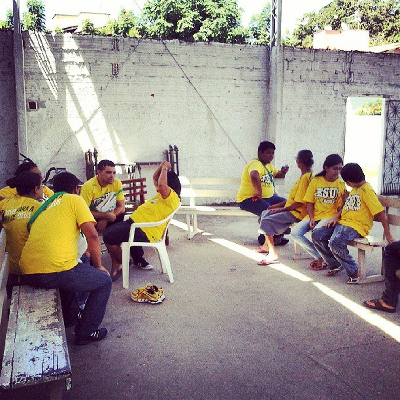 Evangelistas em concentração para pregar a Palavra de Deus! Deusacimadetudo Evangelizar Evangeliza ção