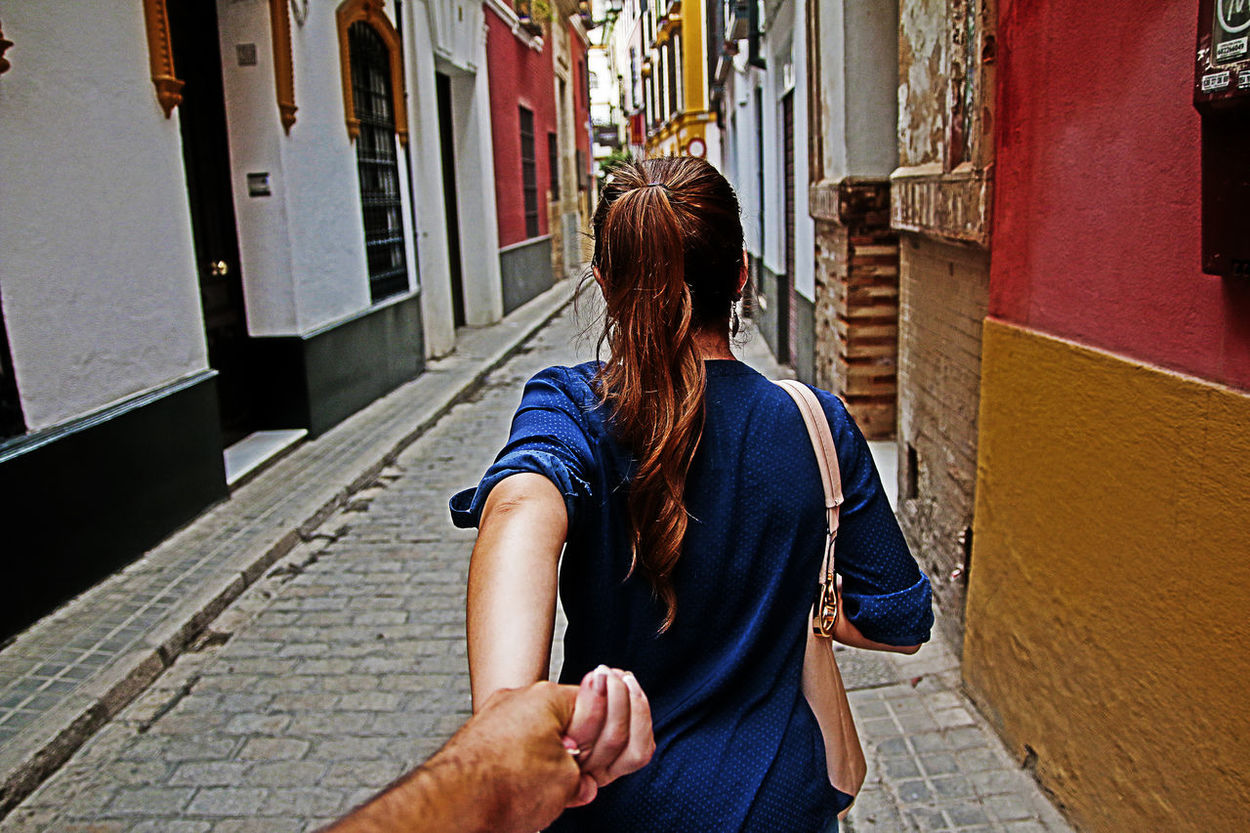 The Following Sevilla SPAIN Me And My Wife  Street Color Streetphotography Followme Muradosman The Woman Who Inspired Me ❤ Canon 70d Moments Of Life People Siville My Guide Girl Power Feel The Journey Fine Art Photography People Together By August 3 2016 Two Is Better Than One People And Places