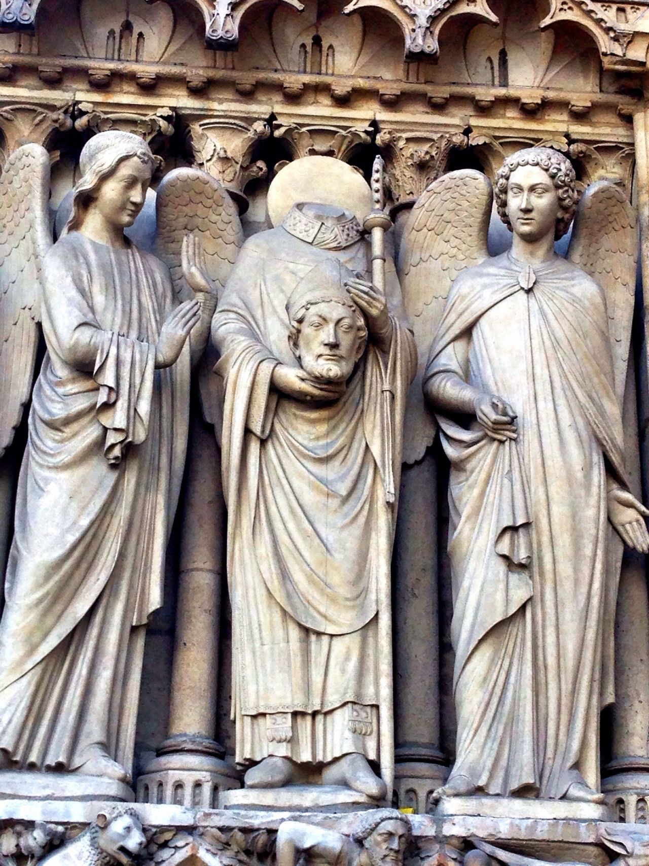Beautiful stock photos of notre dame, Angel, Architecture, Art, Art And Craft