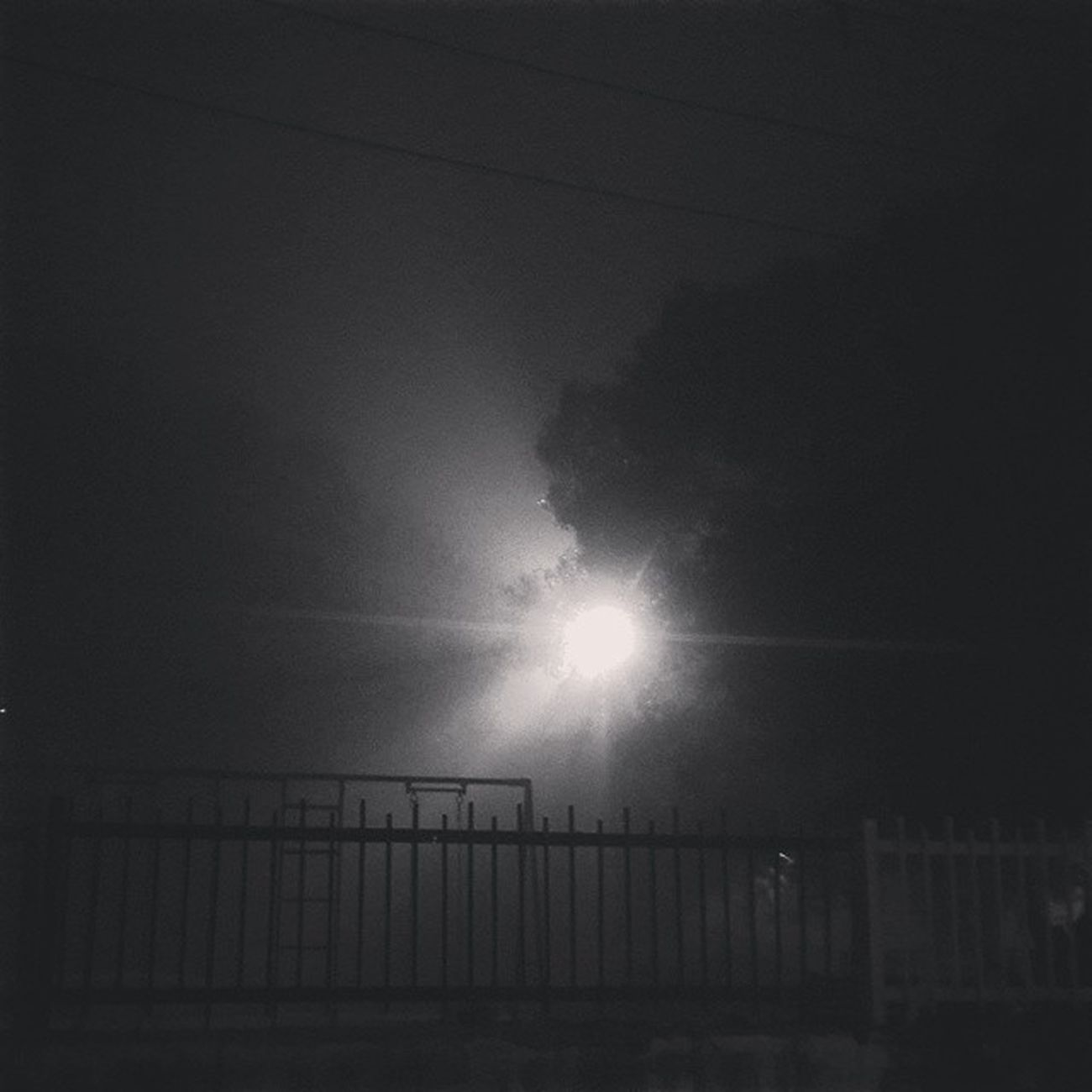 Foggy Night Out_with_friends