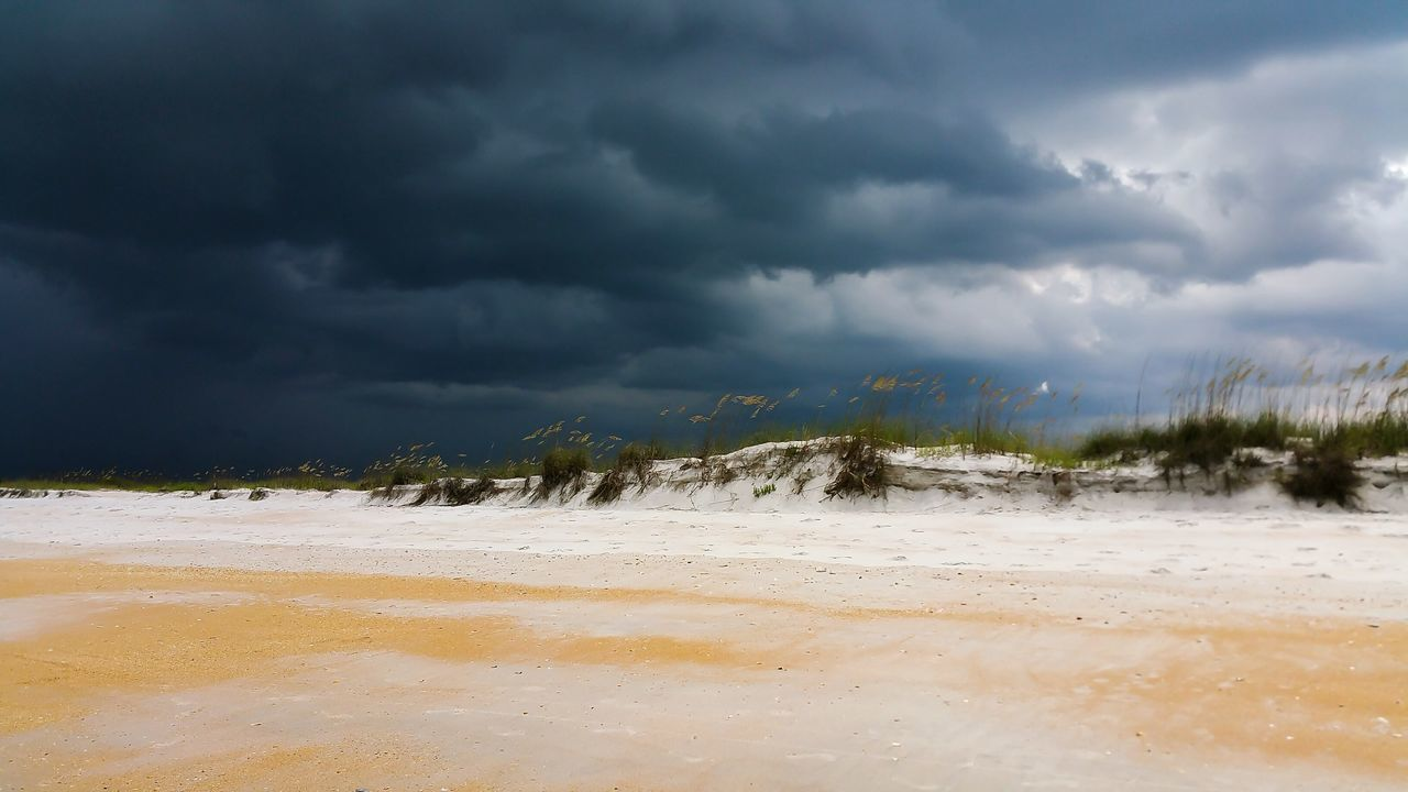 Beautiful stock photos of storm, Beach, Cloud - Sky, Cloudy, Dusk