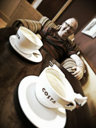 I love Costa Coffee me, I love it for my tea, I love to sit and drink, I love to sit and think, I love to chill an hour away, I'll do it in Costa Coffee any day Hanging Out Taking Photos