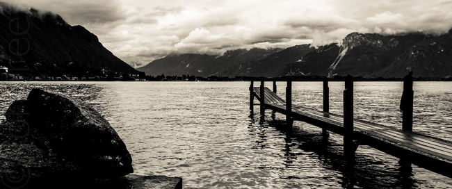 Scenes around Montreaux and Lake Geneva in Switzerland. Europe Holiday Lakes And Mountains Landscape Montreux Outdoors Scenery Sky And Clouds Switzerland Tourism Travel Photography