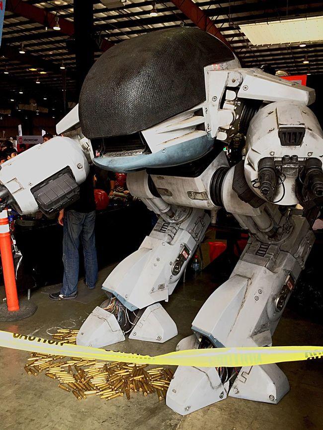 Robocop Robots Makers Faire Technology Classic Robotics