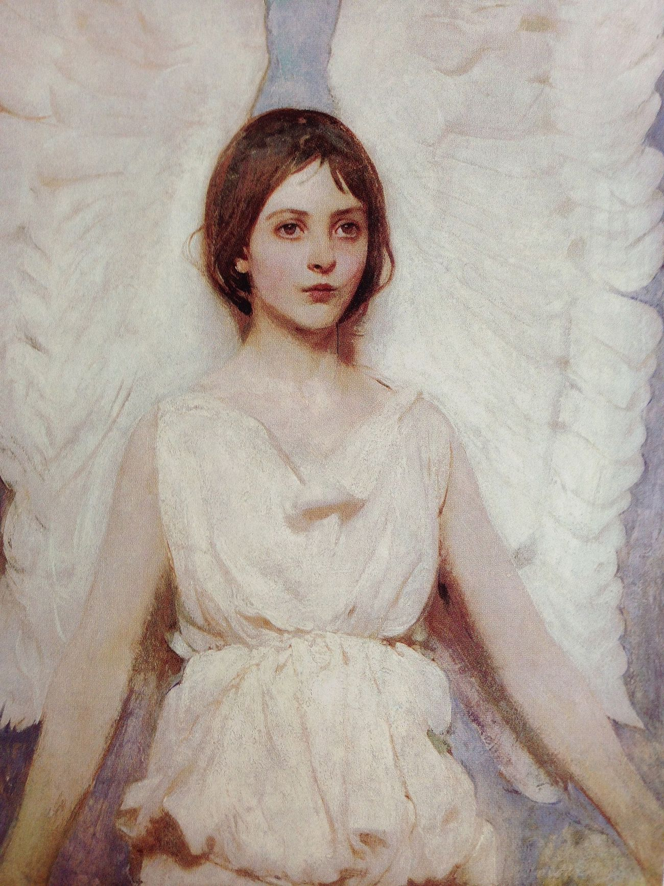 "Abbott Handerson Thayer ""angel"" Hanging Out Magazine Art Art Magazine"
