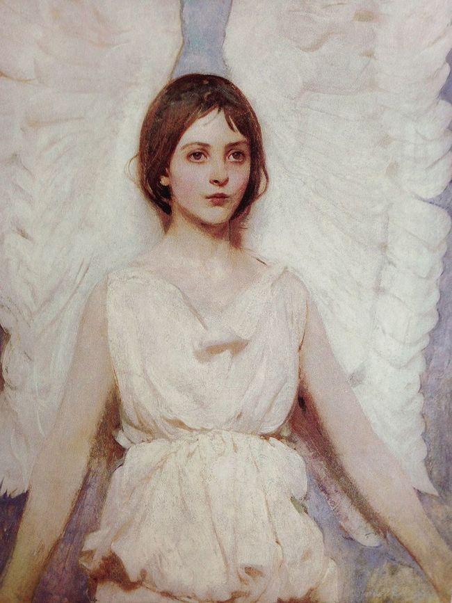 "Abbott Handerson Thayer ""angel"" Hanging Out Magazine Art Art Magazine"