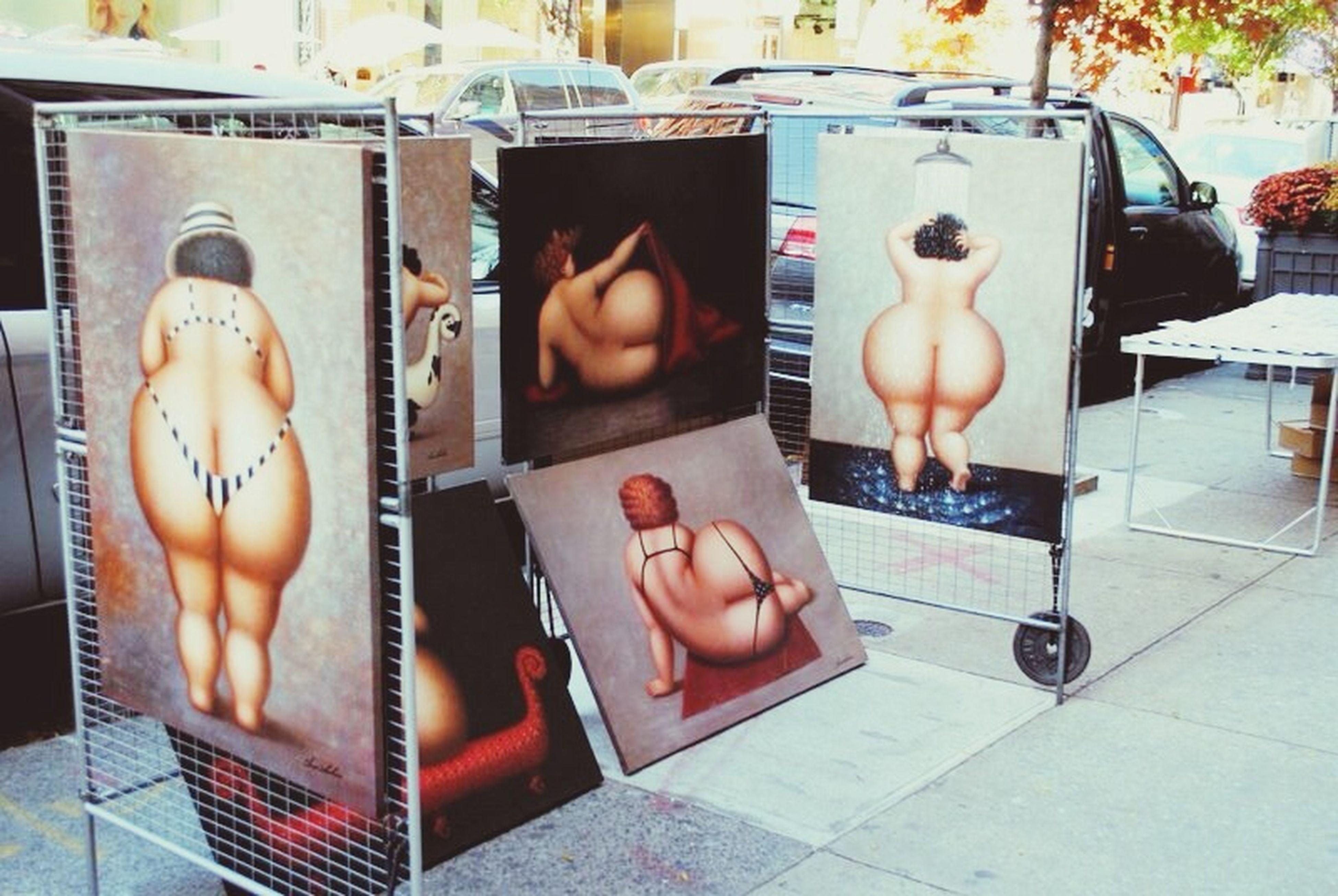 Funny street art in soho! Street Art New York Picture Soho