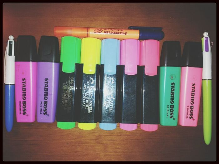 Colors Exams I'm Ready  Highlighters