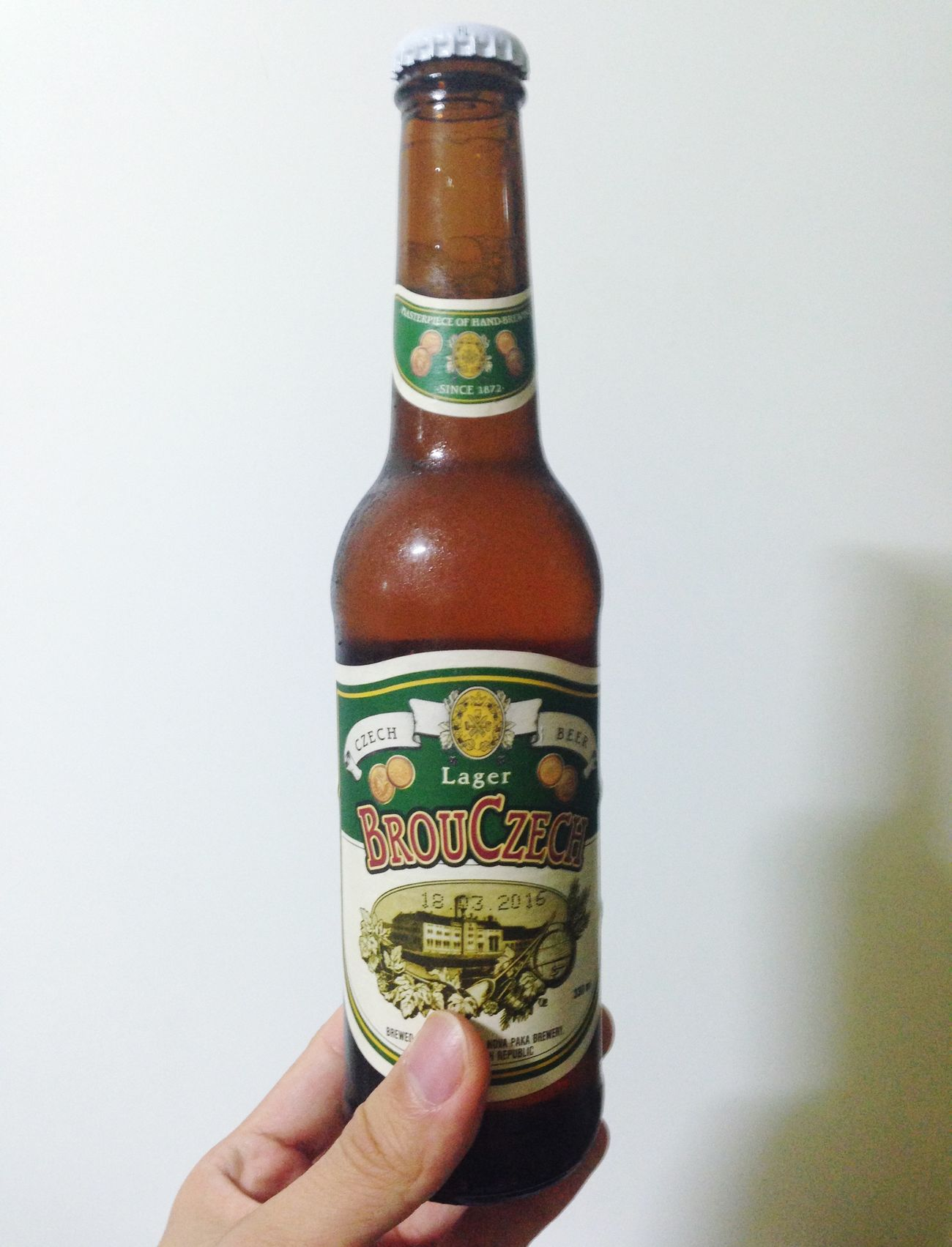Beer Lager Drinks Czech Beer 체코맥주brou czech. home brewing이라는데 톡쏜다 굳