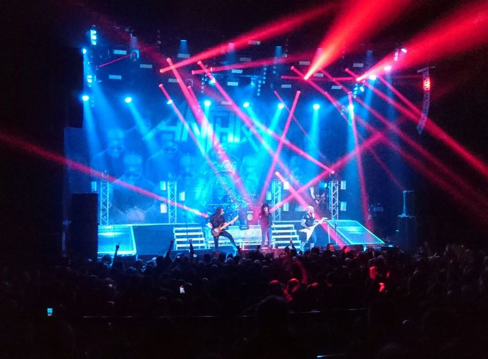 Great show by Anthrax last night. Anthrax Metal Concert Performance Stage Light