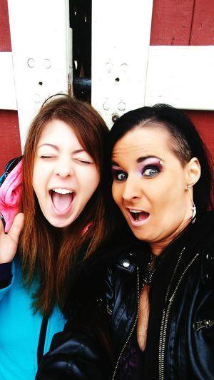 Best Friends ❤ Close-up Beautiful Woman Friendship