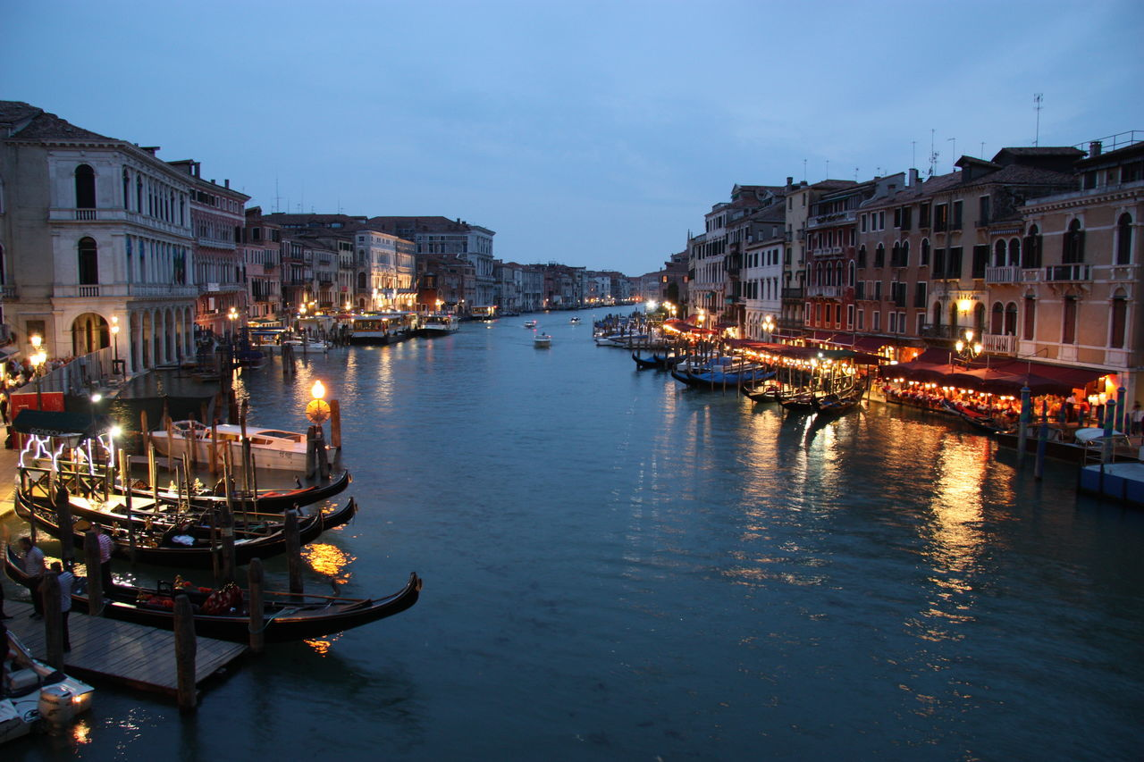 Venice #canal #casanova #cruise #gondola #Italia #Night #nocturn #vaporetto #veneza #Venice #Venezia #Italy #Italia #Europe Boat Building Exterior Canal