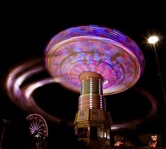 Infinite_pixels Fair Countyfair Miami Florida Igersofmia Igersmiami City_explore Longexposure Long Exposure Ride Neon Fun Youthfair