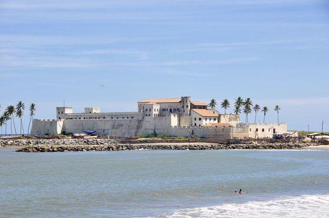 Elmina Castle Africa Architecture Built Structure Coastline Colonial Colonial Architecture Elmina Elmina Castle Ghana Slavery Slaves Travel Destinations