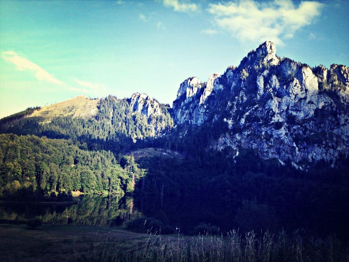 Laudachsee Gmunden Mountain Austria