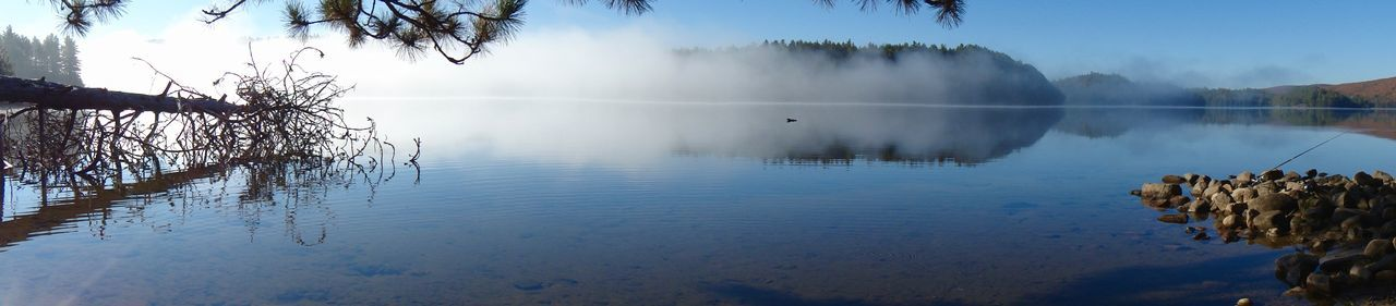 Algonquin Algonquin Park Algonquinprovincialpark Beauty In Nature Fog Landscape Mist Misty Misty Day Misty Forest Misty Landscape Misty Morning Misty Mornings Misty Mountains  Mistymorning Nature Reflection Scenics Tree Water
