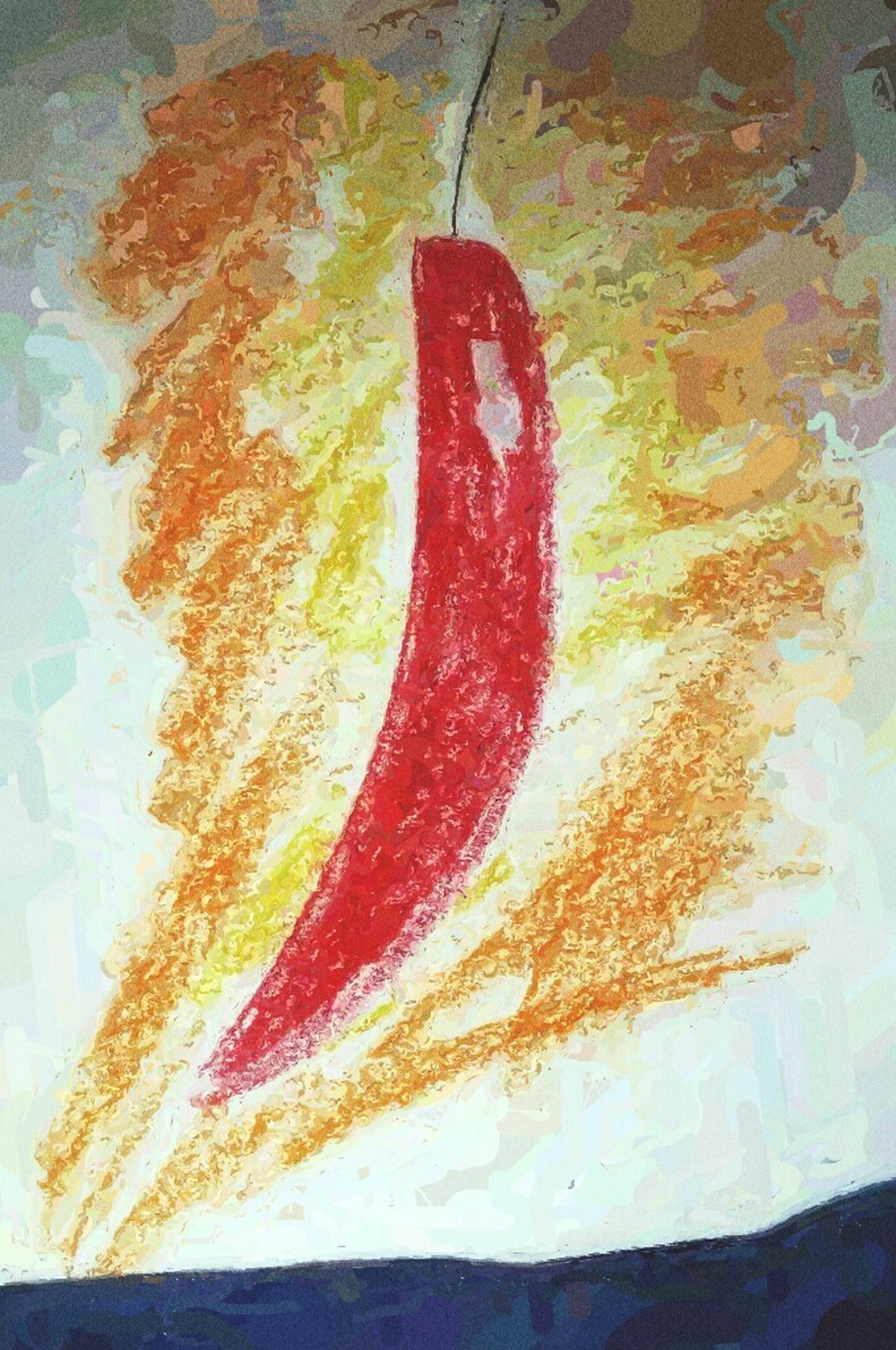 Being Creative Art Abstract Textures And Surfaces Getting Inspired red hot chili