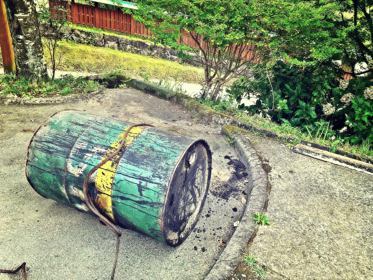Kumamoto Earthquake Drum Broken