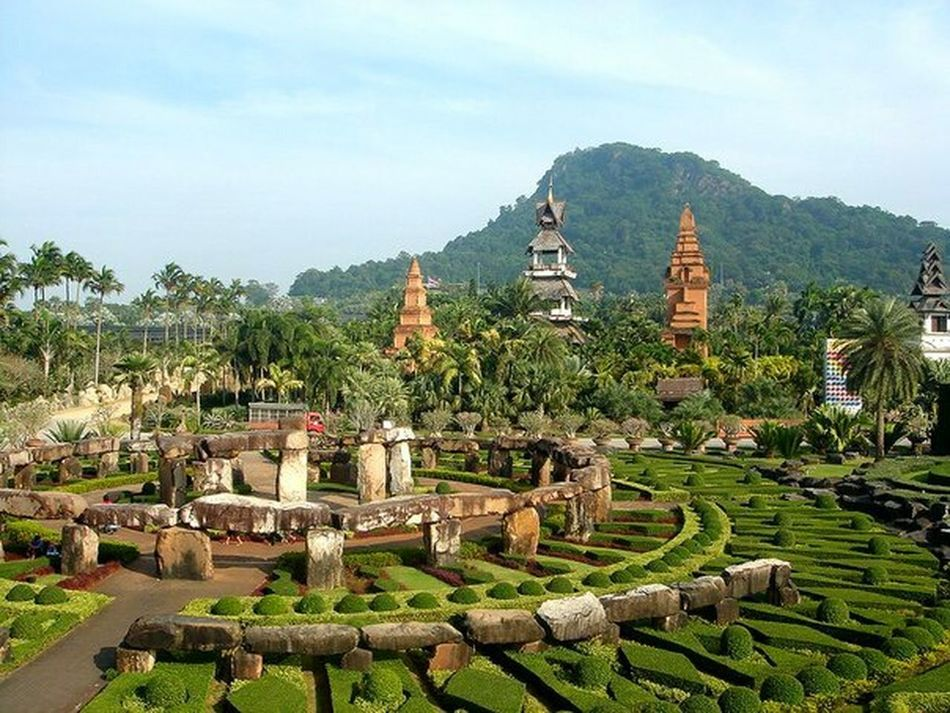 In Thailand Traveling Nongnooch Travel Pattaya, Thailand Thailand Pattaya Nongnoochgarden Beautiful View Beautiful Nature A Day In Thailand Beautiful Place Pattaya Thailand StoneHedge Stonehenge Misterious UFO