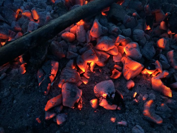 I love the glowing embers of a dying fire. It's so magical First Eyeem Photo EyeEmNewHere