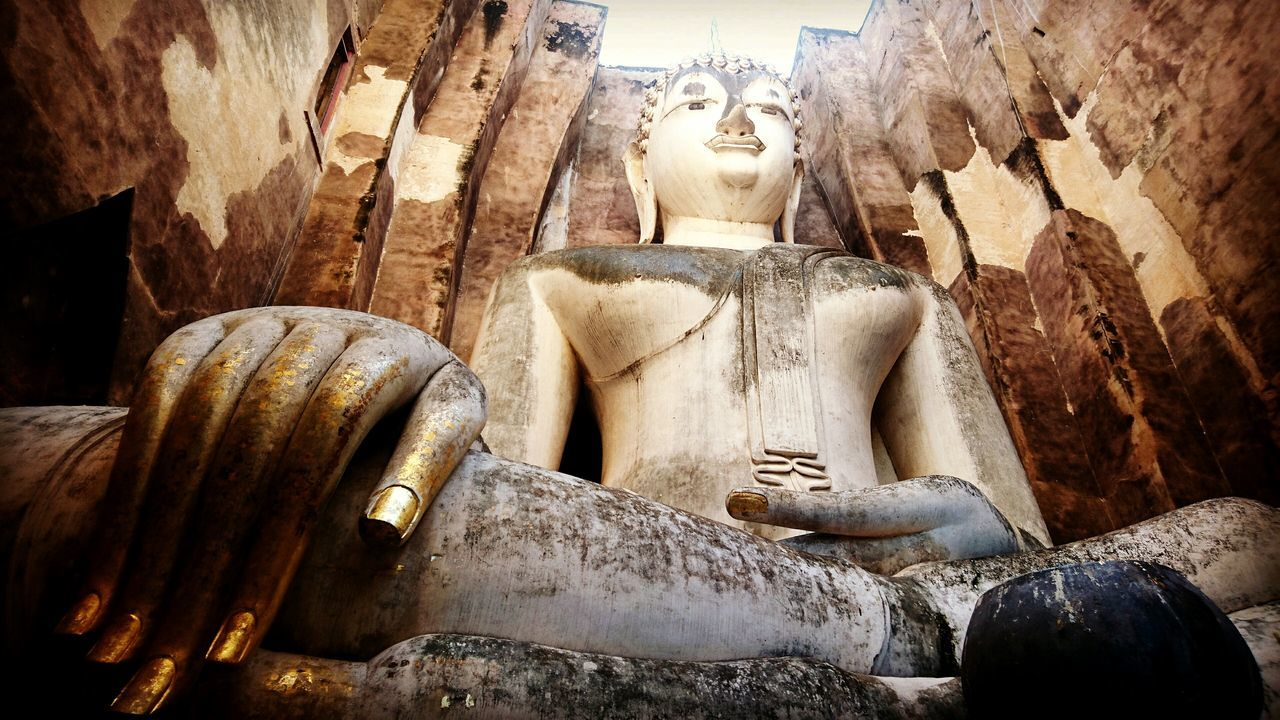 Sukothai Watsrichoom Thailand Buddhist Temple Buddha Old Town