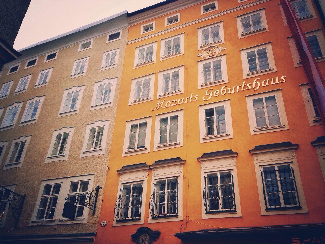 Salzburg MozartGeburthaus