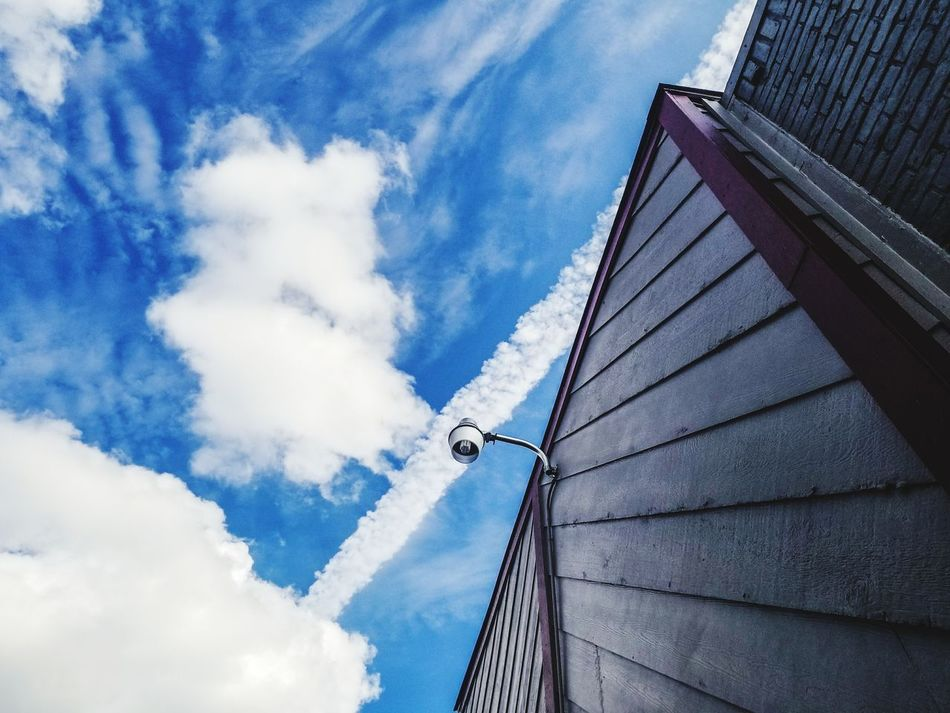 Cloud - Sky Low Angle View Sky Day Outdoors Architecture No People Nature Smartphonephotography Galaxy S8+ Hello World After The Rain Built Structure Building Exterior City